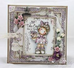 Cartão: Cartão Magnolia