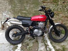MOTORCYCLE 74: Honda SLR 650 - Scrambler