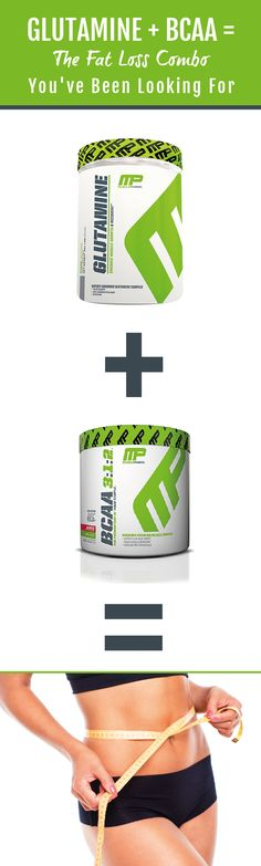 Will taking glutamine and BCAA give you an advantage in the fat loss game? Find out whether this combination is what you need to drop a few extra lbs. #FatLoss