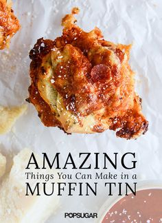 All you need is a muffin tin to bake off these easy handheld recipes. Cupcakes are old news and there's no better time than the present to test out yummy creations like Garlic Parmesan Popovers and Cheesy Bacon Tater Tots. For more inspiration, check out our list of amazing things you can make in a muffin tin.