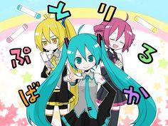 Triple Baka- Teto, Miku and Neru ^-^