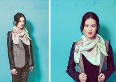 Look Book   Yaelle  www.yaelle.co.uk  silk scarves