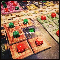 Lords of Vegas by Mayfair Games Photo by: @SHeartsOrRivals youtube.com/sweetheartsorrivals