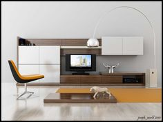 a simple tv unit.