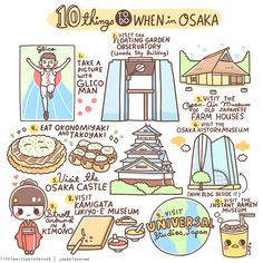 10 Things to Do When in Osaka | Little Miss Paint Brush