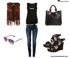 Buenos días!! Nuevo post, todos los detalles y fotos en http://wardrobeweb.com/wardrobe-fringe-style/ feliz día!