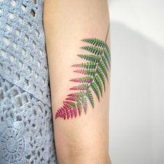 Fougère tattoo