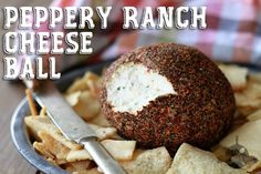 This quick and easy, 3-ingredient cheese ball is really a show stopper!