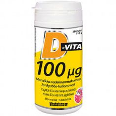 Витамин Д, D-Vita 100mg, 200 таблеток Finland Trip, Vitamin D, Lemonade, Bottle, Drinks, Food, Drinking, Beverages, Meal