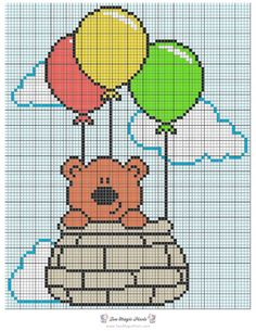 25 Trendy Ideas For Crochet Patterns Tapestry Knitting Charts Cross Stitch Cards, Cute Cross Stitch, Cross Stitch Animals, Cross Stitching, Cross Stitch Embroidery, Embroidery Patterns, Crochet Patterns, Hand Embroidery, Funny Cross Stitch Patterns
