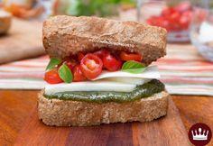 Saiba como preparar um delicioso SANDUÍCHE CAPRESE, uma ótima Receita pra qualquer hora!
