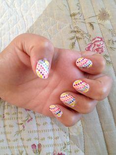 Uñas pintadas de Antonia Cute Nail Art, Cute Nails, Pretty Nails, Love Decorations, Types Of Nails, Finger Painting, How To Do Nails, Nail Designs, Nail Polish