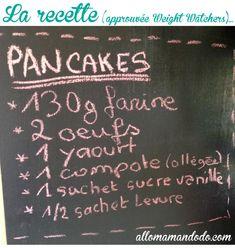 La recette facile des pancakes light du dimanche! (approuvés Weight Watchers!) - Allo Maman Dodo