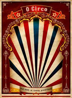 Vintage Carnival Border A red vintage circus Dark Circus, Circus Art, Circus Theme, Circo Do Mickey, Circo Vintage, Pub Vintage, Night Circus, Clowns, Amusement Park