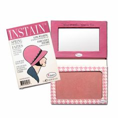 The Balm INSTAIN Long-Wearing Blush Houndstooth #THEBALM SPECIAL DISCOUNT FOR YOUR FIRST PURCHASE, ENTER THE CODE MAGASIN BEFORE YOU CHECK OUT AND GET 30% OFF!! VALIDITY UNTIL FEBRUARY 28th 2017, HAPPY SHOPPING!!!!
