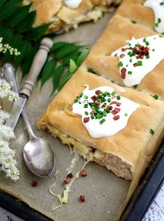Copycat Rezept für das Dresdner Handbrot mit schicnken | Copycat Recipe for german hand-bread with cheese and bacon