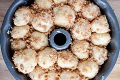 Overnight Chocolate Chip-Toffee Monkey Bread