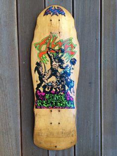 Alva Skateboards, Skate Surf, Longboards, Skateboard Decks, Skateboarding, Old School, Badass, Surfing, Skateboards