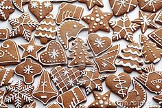 Photo about Homemade various gingerbreads - sweet food. Image of homemade, various, symbol - 22039268 Gingerbread Decorations, Gingerbread Man, Gingerbread Cookies, Royal Icing Cookies, Sugar Cookies, Christmas Desserts, Christmas Cookies, Scandinavian Christmas, White Christmas