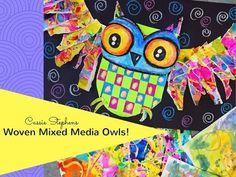 In the Art Room: First Grade Woven Owls | Cassie Stephens | Bloglovin'