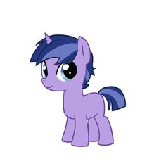 Night Light Jr is the youngest son of Twilight Sparkle and Flash Sentry. He was named after Twilight Sparkle's father. He has a lot in common with Twlight - loves books and spells! Check out the maker http://kilala97.deviantart.com/