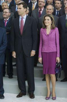 La Princesa Letizia en el Palacio de Congresos de Madrid