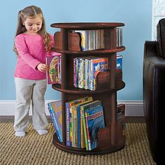 With as many books as my children have, I'm not sure this is big enough, but I love the idea of it!