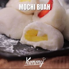 Desserts Chinois, Soft Caramels Recipe, Easy Cooking, Cooking Recipes, Mochi Cake, Homemade Frappuccino, Breakfast Recipes, Dessert Recipes, Easy Smoothie Recipes