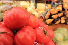 Immer wieder toll: Die Gemüseauswahl auf dem Markt in Santanyi