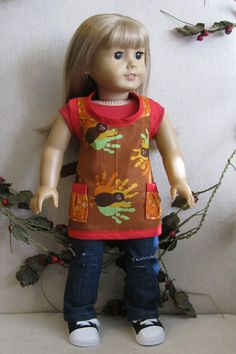 American girl clothes 18 in doll clothes girl by HenryStreetDolls