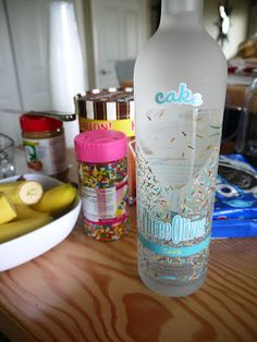 Birthday Cake Adult Milkshake - A friend bought this vodka for me and I had no idea what to do with it!!