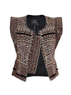Isabel Marant, embellished vest