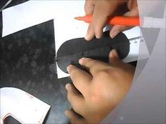 aprenda a fazer molde de sapatinho de BB,  molde façil!!   Cantinho do Video