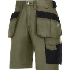Snickers Workwear 3312 Pantalones ozean-schwarz 52