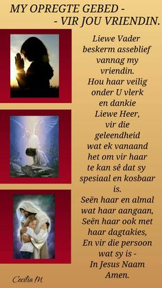 Birthday Prayer, Goeie Nag, Goeie More, Afrikaans Quotes, Morning Inspirational Quotes, Friendship Quotes, Poems, My Life, Prayers