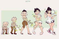 [C] TG Tennis! Tg Transformation Comics, Transgender Transformation, Cartoon Drawings, Cute Drawings, Gender Bender Anime, Transgender Comic, Tg Tf, Naruto Funny, Manga Characters
