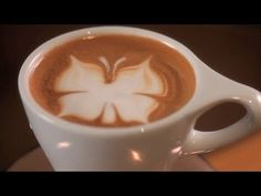 ▶️ How to Etch a Butterfly | Latte Art - YouTube