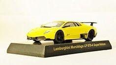 Kyosho 1/64 Ratio Die-cast Car Lamborghini Collection 3 Murcielago LP 670-4 SuperVeloce Yellow