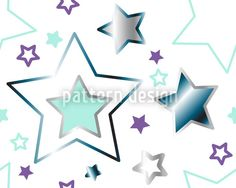 Ice Light In The Snow by Sonja Sporrer-Hornfeck available for download as a vector file on patterndesigns.com