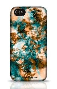 Colored Marble Apple iPhone 5c Phone Case