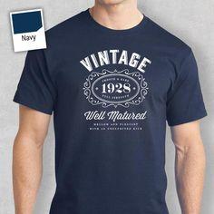 a44e81135 23 Best 50th birthday T-shirt images | T shirts, Birthday shirts ...