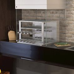 Churrasqueira Cooktop a Carvão Scheer 11 Espetos Rotativos com Lift Grill Inox 304 79cm