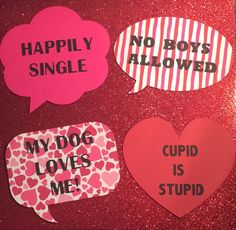 Galentines Day/Valentines Day Photo Booth Props by JJJBCRAFTS