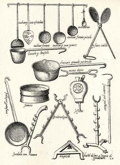 How to cook for a banquet: Bartolomeo Scappi - Italian Ways Kitchen Utensil Storage, Kitchen Utensils, Open Fire Cooking, Old West Photos, Best Cheese, Cooking Equipment, Love Charms, Cooking Utensils, 16th Century