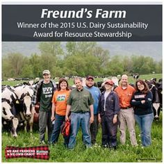 This week we have a very special #FarmerFriday on the #CabotBlog today because the Freund Farm was awarded the 2015 U.S. Dairy Sustainability Award for Resource Stewardship. https://www.cabotcheese.coop/blog/farmer-friday-freunds-farm/