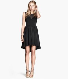 10 Affordable Little Black Dresses That Are Anything but Boring: High-Low Sleeveless Dress