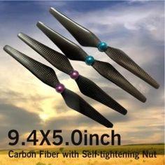 New Item!! 9450 carbon propeller for the DJI Phantom2+ or CX20 Quanum Nova quadcopter.