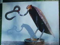 Scoop Shovel Buzzard Rusty Relics Metal Art