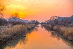 Tranquil sunset by Lee Kyeong Hwan on 500px