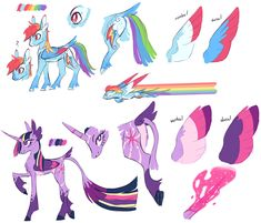 MLP Redesigns by 8xenon8